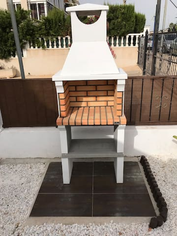Barbacoa para disfrutar de tus comidas/cenas en la terraza