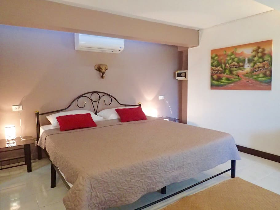 bed breakfast double room chambres d 39 h tes louer ko samui surat thani tha lande. Black Bedroom Furniture Sets. Home Design Ideas