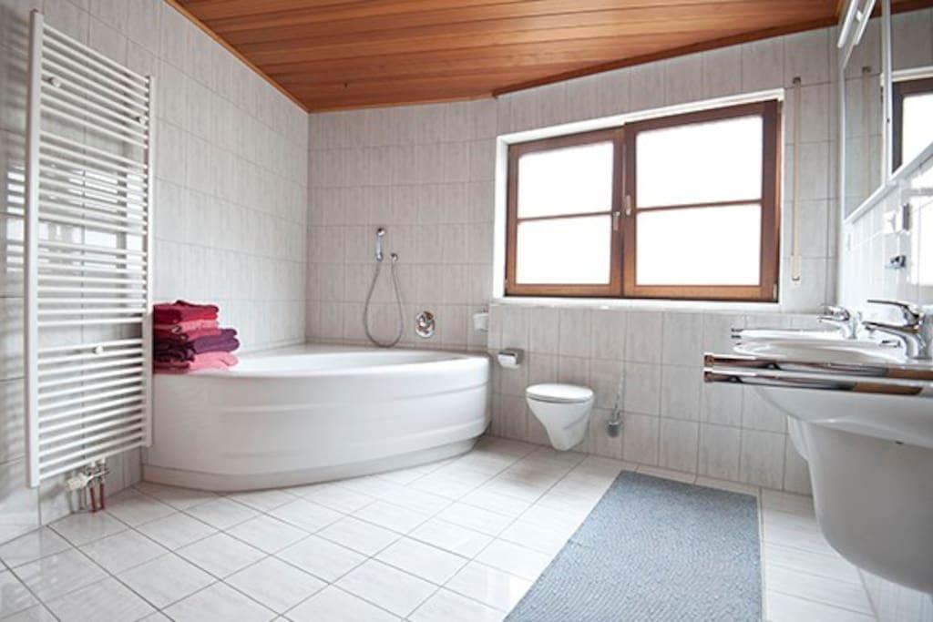 gro e komfortable wohnung 110 m mit sauna wohnungen zur miete in birkenau hessen deutschland. Black Bedroom Furniture Sets. Home Design Ideas
