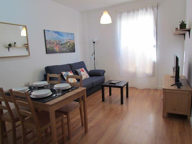 Acogedor apartamento en el Centro de Málaga - Málaga - Leilighet