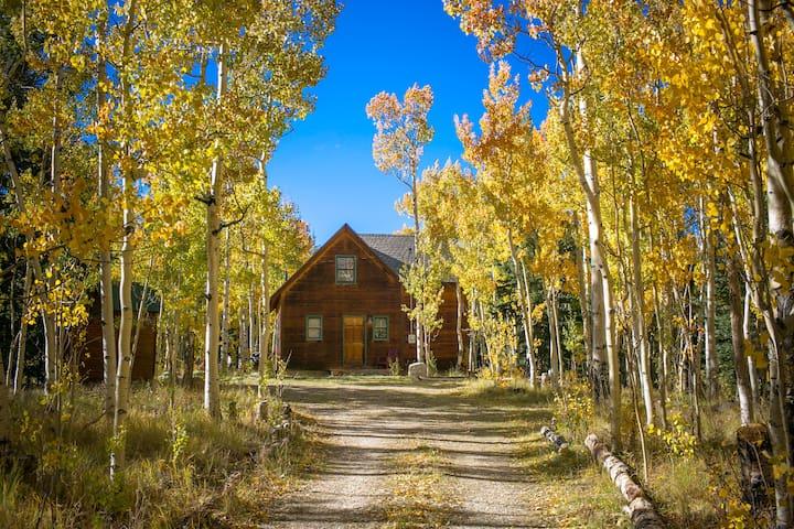adventure cabin in a private aspen grove chalet in On cabine colorado aspen in affitto