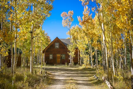 Adventure Cabin in a Private Aspen Grove - Fairplay