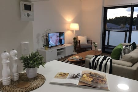 Stylish New 1Bedroom +Study Apartment with Parking
