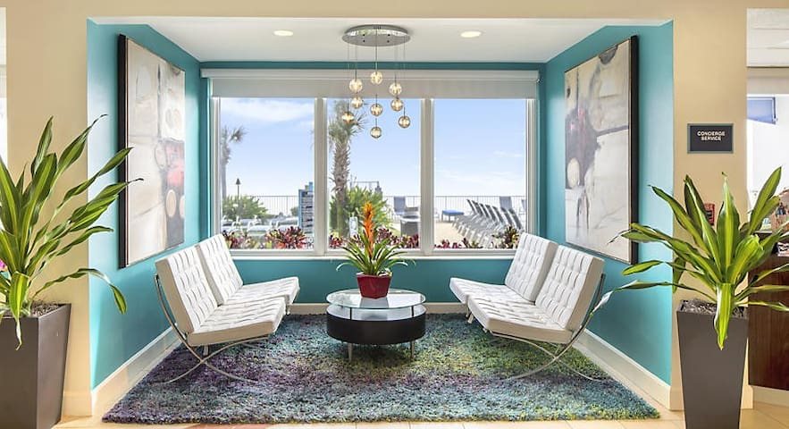 ★OCEANFRONT 1 Bedroom Suite with Pool Amenitites★