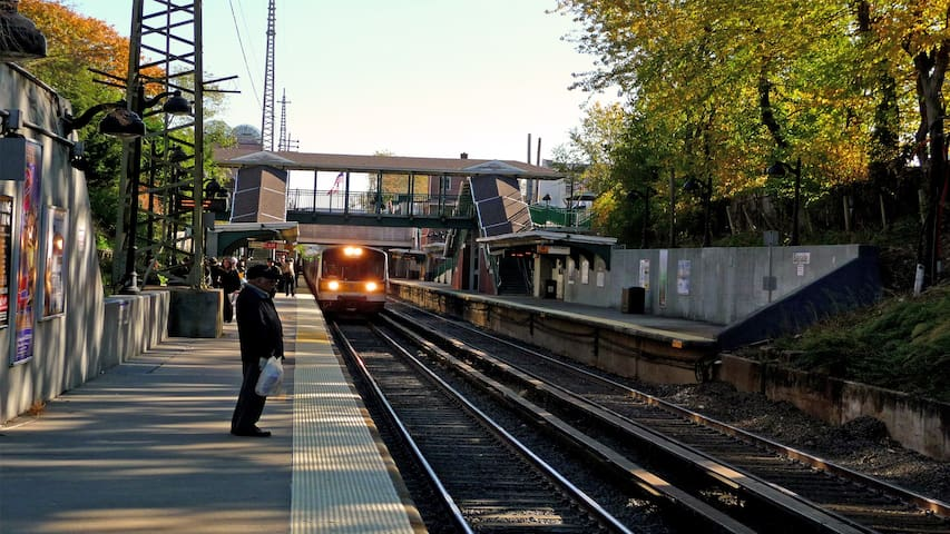 LIRR Train Station, Bayside stop.