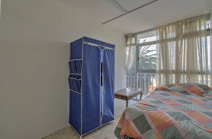 Habitación Privada 6 en Polanco☞en Depa con Balcón