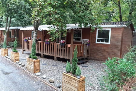 CHALET MOBIL-HOME 6 PERS PASSY MONT-BLANC