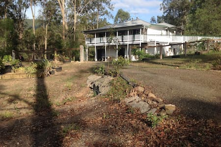 Harry Mac's Aussie Bush Retreat nr Tamborine SEQld - Biddaddaba