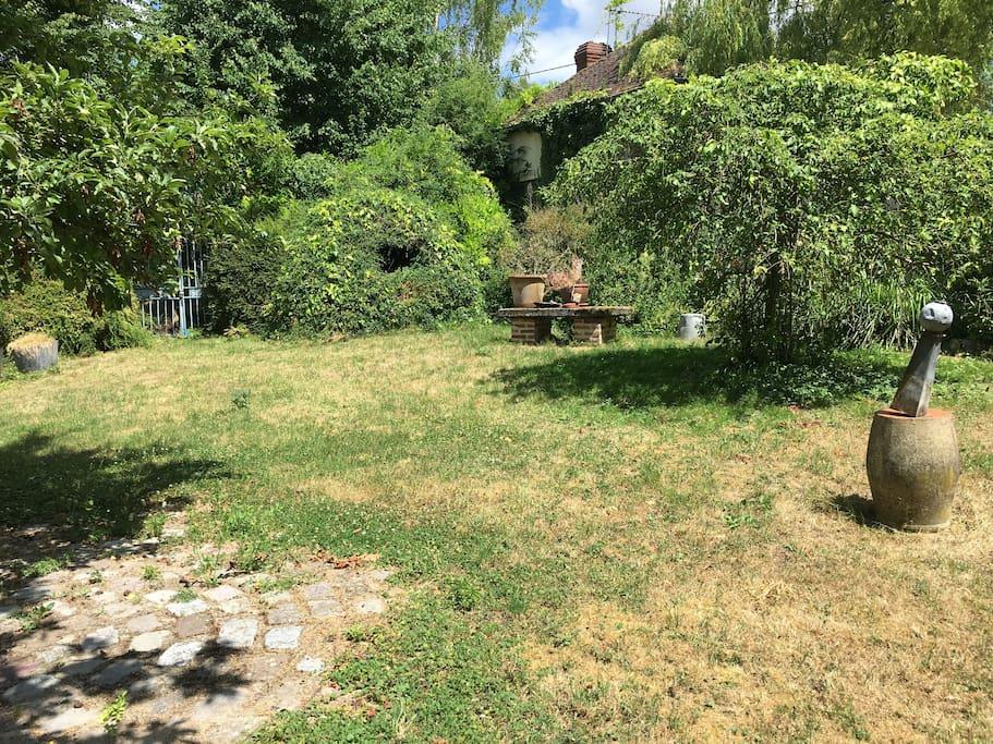 Jardin privatif