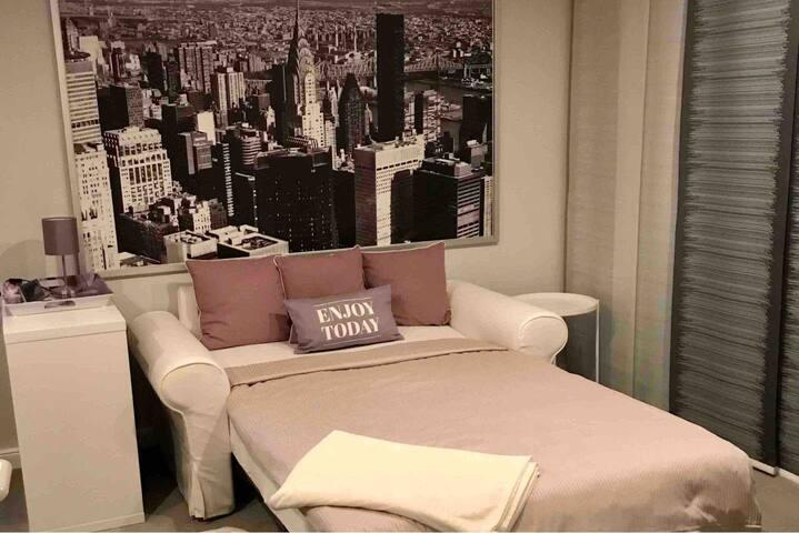 Cosy Big Apple room NYC shared bathroom Lahnstein