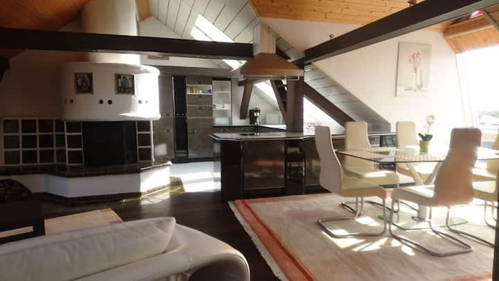 Großzügiges modernes Urlaubsapartment 152 m² Kamin