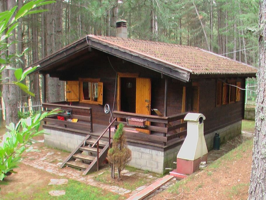 Chalet a camigliatello calabria cabins for rent in for Anthony lakes cabin rentals