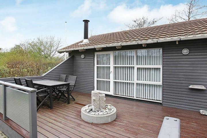 Maison de vacances cosy avec terrasse à Vestervig Jutland