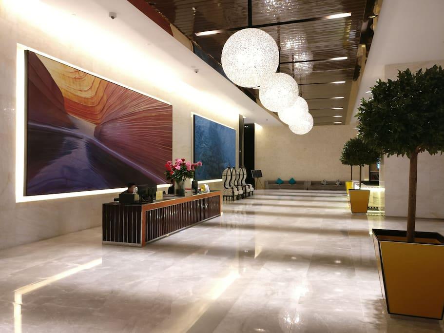 6star huge grand lobby