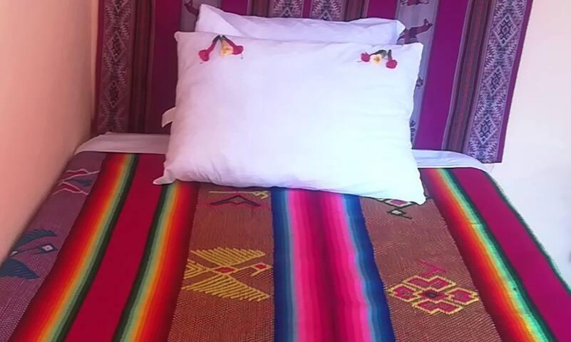 quillapatalodge doble cama individual