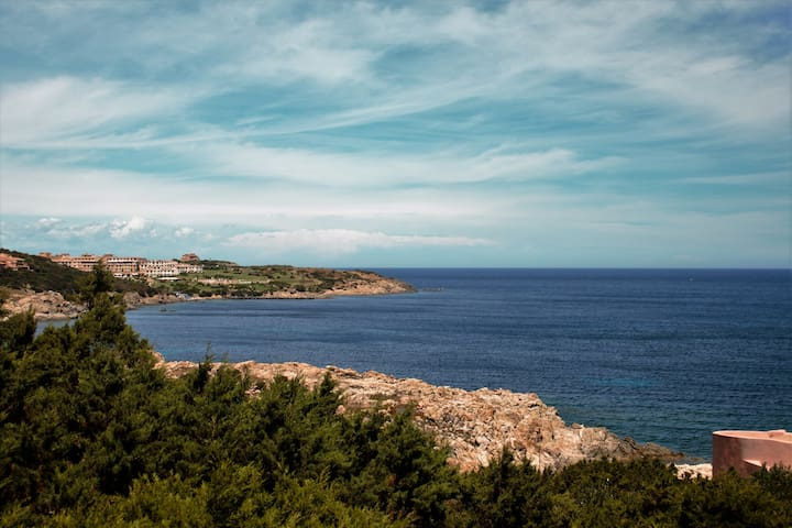 Apartment sea view Cala De Flores Porto Cervo - Porto Cervo - Rumah