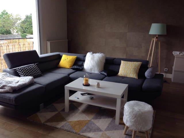 Chambre spacieuse dans une charmante maison - Brest - Hus