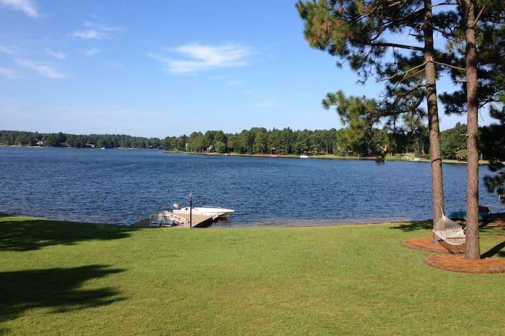 Pinehurst Area Lake Retreat