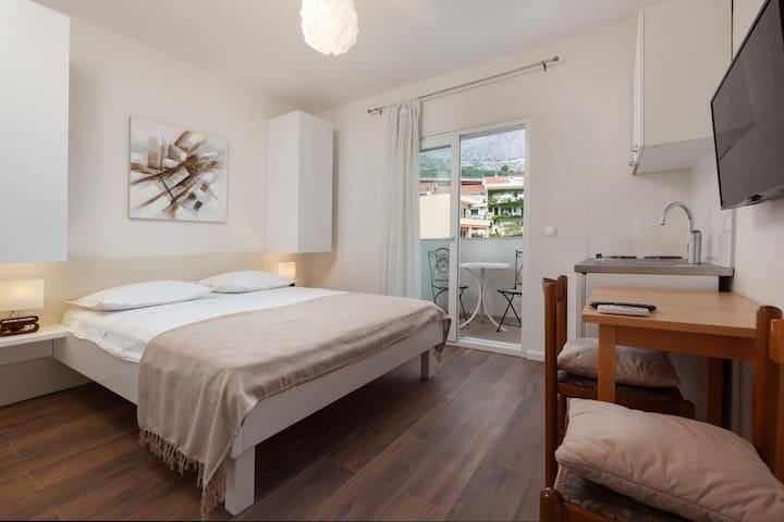 Studio apartman s balkonom Podgora (Makarska) (AS-2787-a)