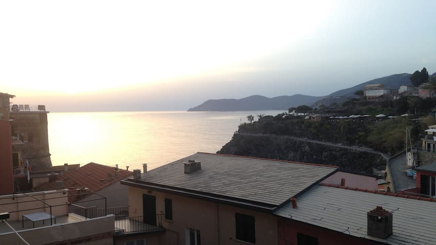 Casa Marcella Cinque Terre-Apartment with sea View - Manarola - Flat