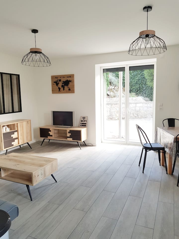 Appartement individuel dans maison : l'Atelier K