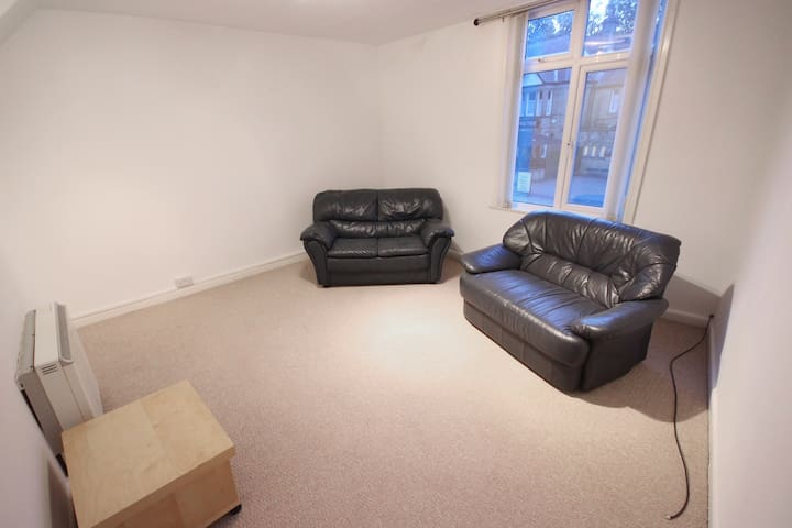 Entire 2 Double Bed Flat -Sleeps 4+ - Sheffield - Apartment