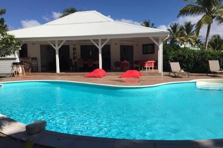 Villa créole et son bungalow - Saint-Francois - Villa