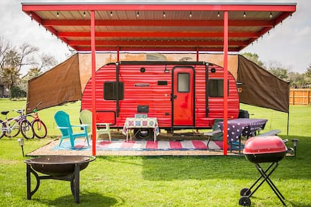 Glamping! Ruby Any Day w/pool access