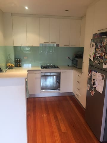 Kitchen with Coffee Machine and all appliances
