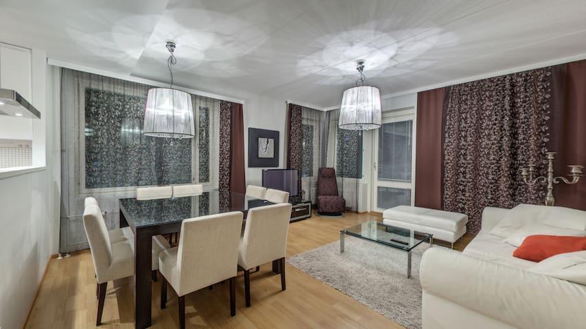 71,5 m2 Superb 2-bedroom apt with sauna (A6)
