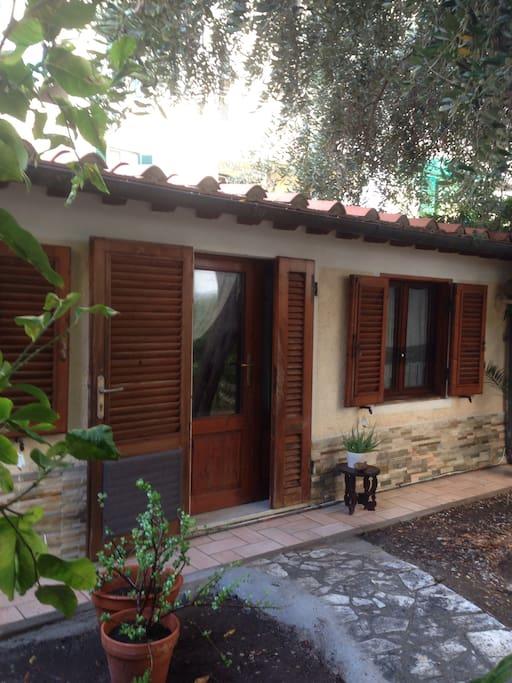 Dep ndance in giardino condomini in affitto a livorno - Case in affitto con giardino livorno ...