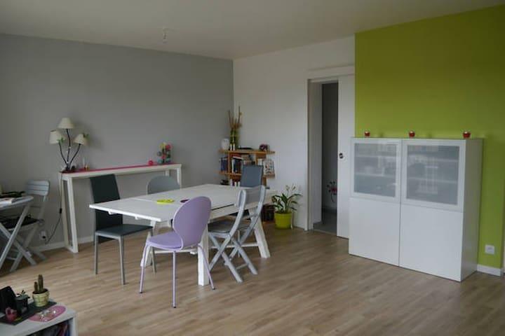 Chambre 5 min centre Saumur 5 min Cadre Noir - Saumur - Apartamento
