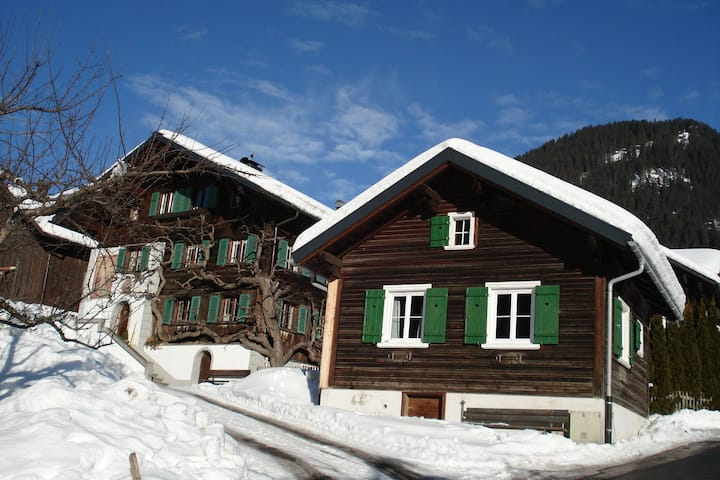 Cozy Holiday Home near Skiing Area in Sankt Gallenkirch