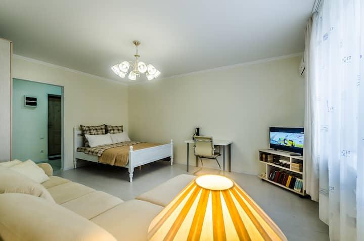 Апартаменты с домашним уютом.