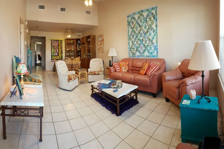 Spend your vacation in a single level townhouse - South Padre Island - Dom