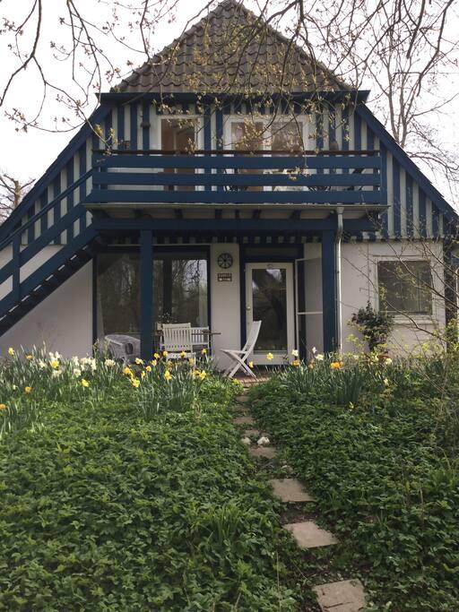 Wohnung im Erdgeschoss mit Terrasse