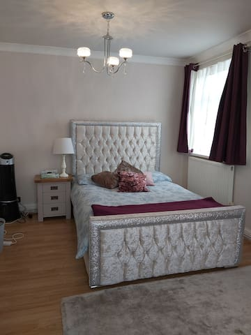 In Billericay modern large bedroom