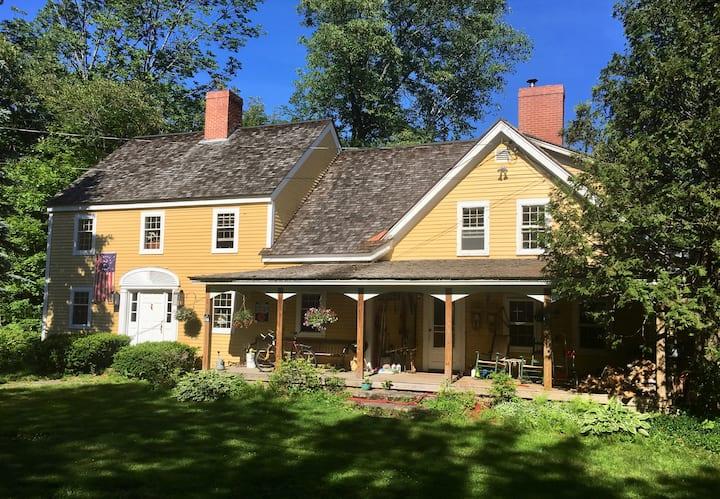 Jackson farmhouse with a view