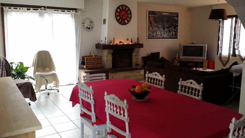 Chambre privée au calme - Lys-lez-Lannoy - Casa
