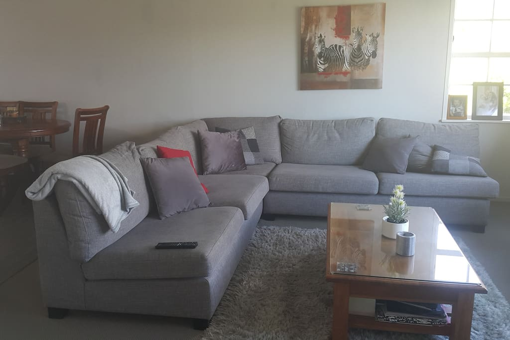 Comfy friendly lounge