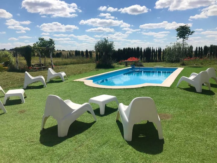 House with 3 bedrooms in Alcaracejos, with shared pool, enclosed garden and WiFi