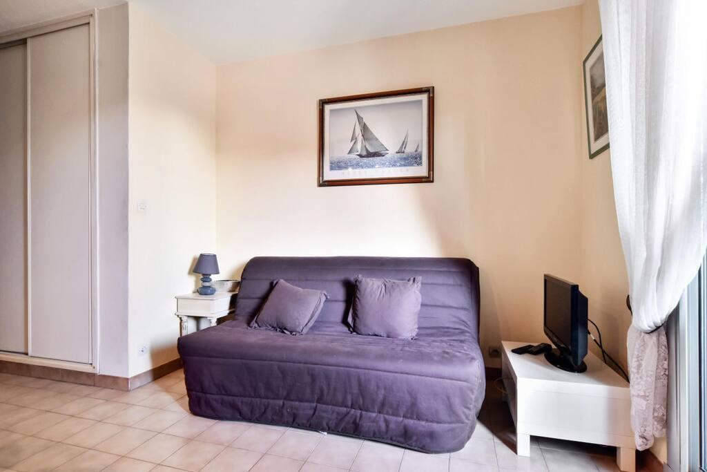 Studio 4 Personnes Confort - Résidence Les Roches Bleues