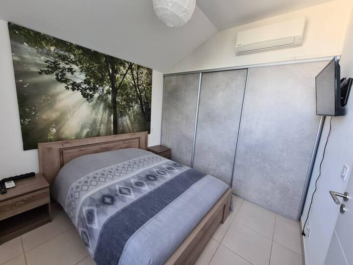 Chambre privée Duplex sur toit de résidence