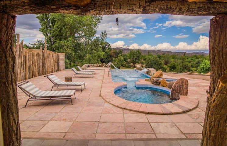 Apacheta Posada Rural (Habitación doble) - Famatina - Zomerhuis/Cottage