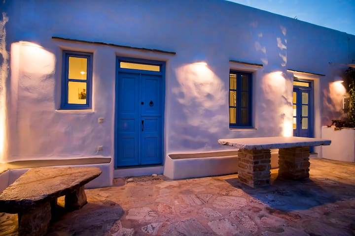 Cycladic traditional house