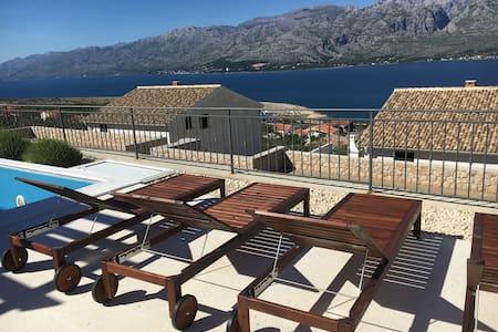 Superior Villa Bura with pool - Vinjerac