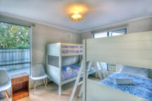 4the bedroom is great for kids with 2 bunks