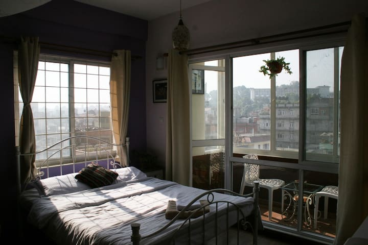 Sherpa family apartment room with view+ balcony