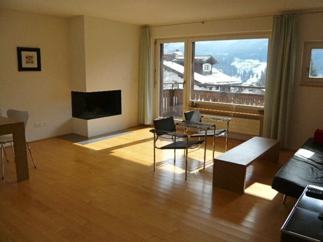 Luxary spacious 3 room apartment on sunny hillside - Klosters-Serneus