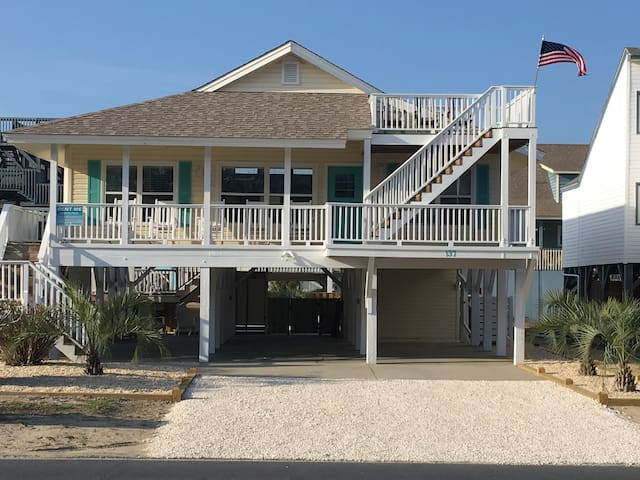 Fully Renovated Beach Cottage with Private Pool - Ocean Isle Beach - Casa